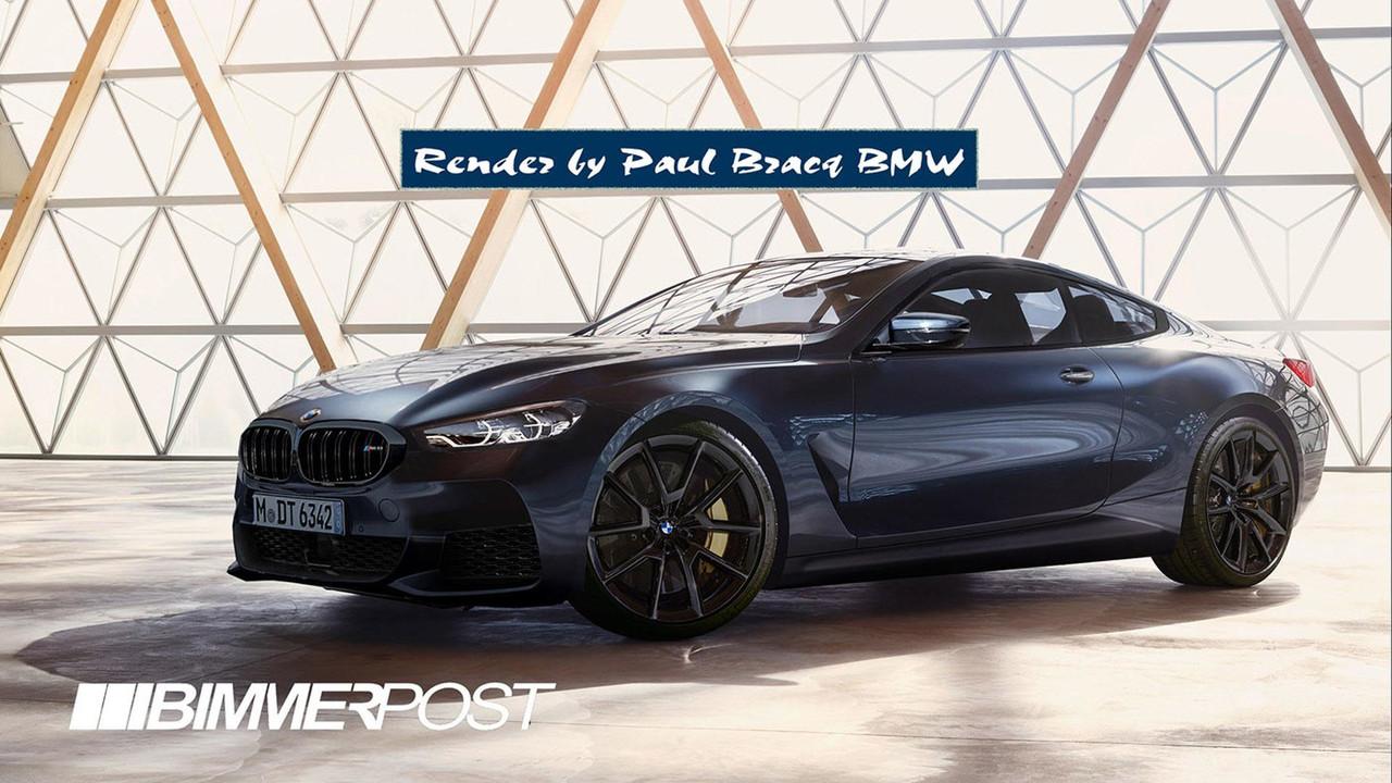 BMW M8 tasarım yorumu