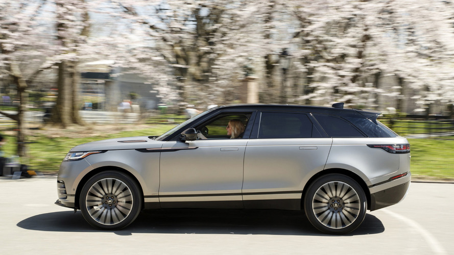 Range Rover Velar Makes U S Debut With Help From Ellie Goulding