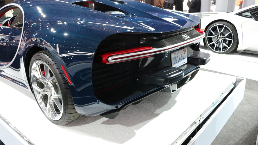 America Ruined The Bugatti Chiron With These Bumper Pads