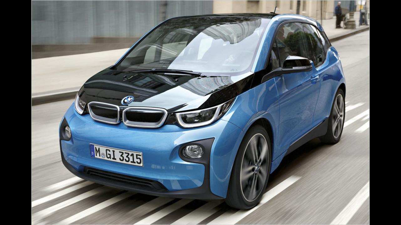 Platz 3: BMW i3