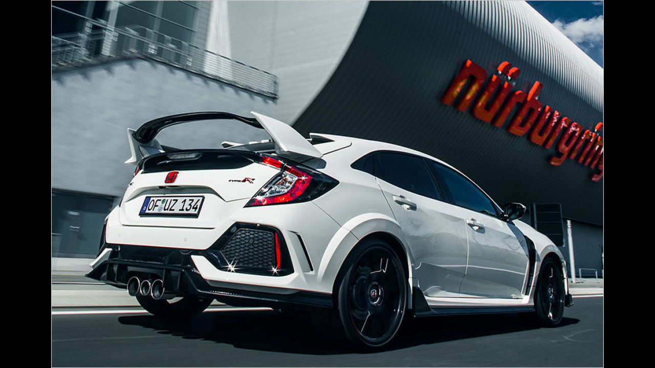 Platz 1: Honda Civic Type R 2017