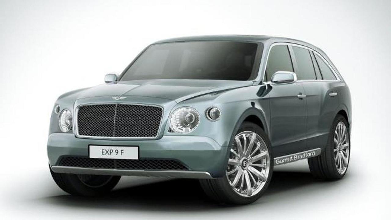Bentley EXP 9 F speculative rendering