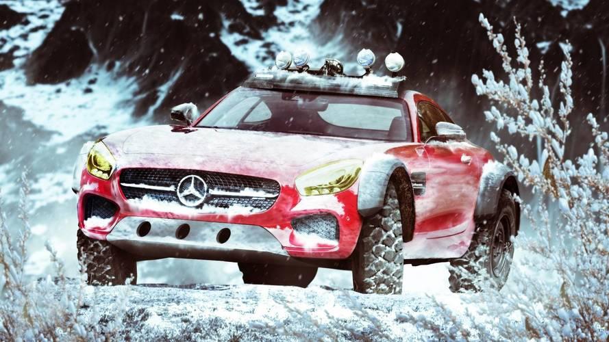 Renders: superdeportivos de invierno