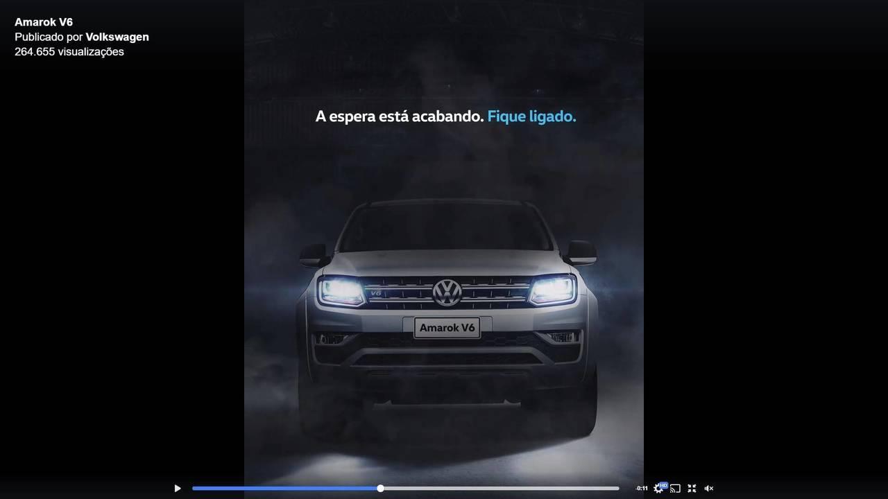 VW Amarok V6 Facebook