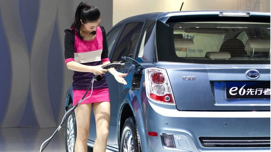 Auto elettriche, la Cina è leader nel mondo