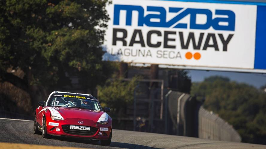 Mazda, Laguna Seca To End 17-Year Partnership