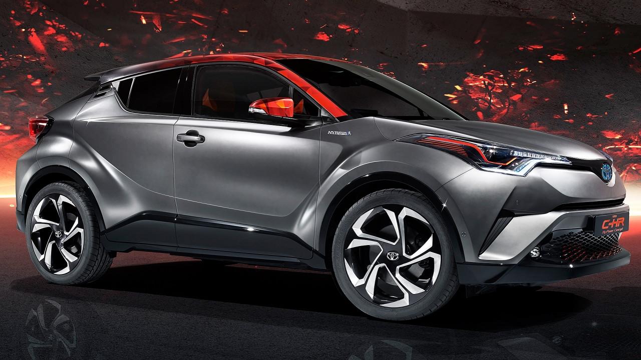 [Copertina] - Salone di Francoforte: Toyota C-HR Hy-Power, l'ibrido si fa forte