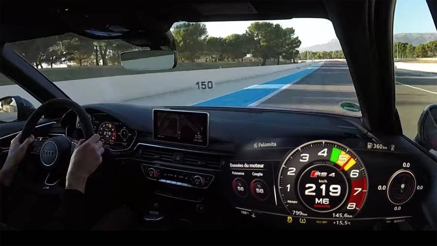 Onboard Videos Demonstrate Audi RS4 Avant's Amazing Performance