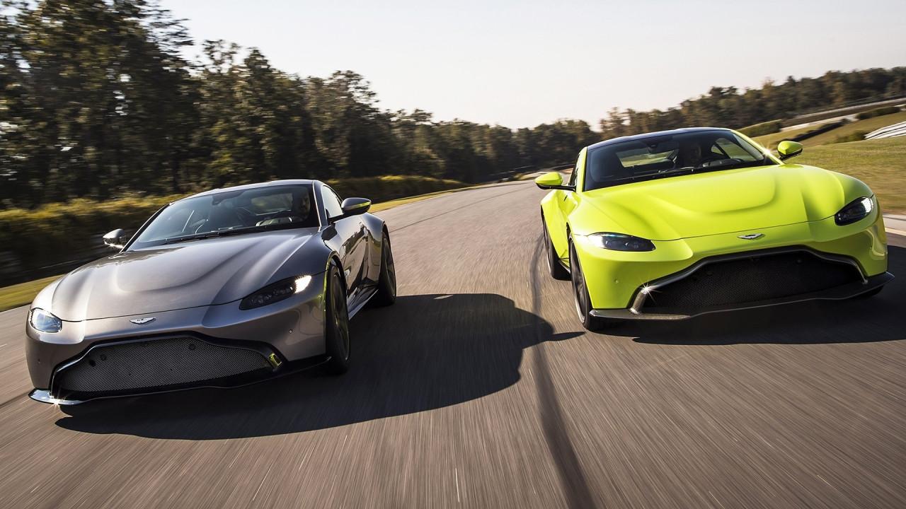 [Copertina] - Aston Martin Vantage, un nuovo design che fa discutere