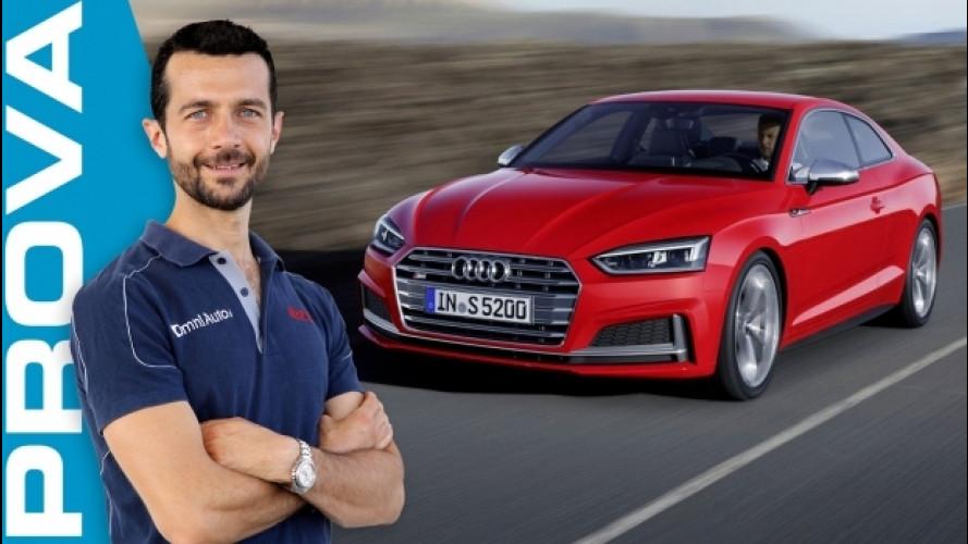 Audi S5 Coupé, viva il divertimento [VIDEO]