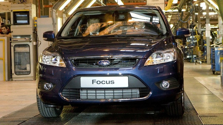 Ford Focus Production Commences in Russia