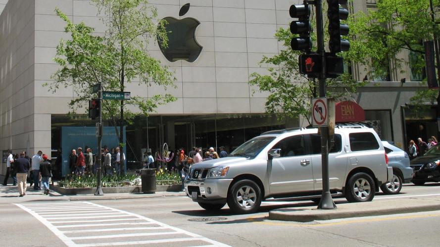 Baleset részese volt az Apple önvezető autója