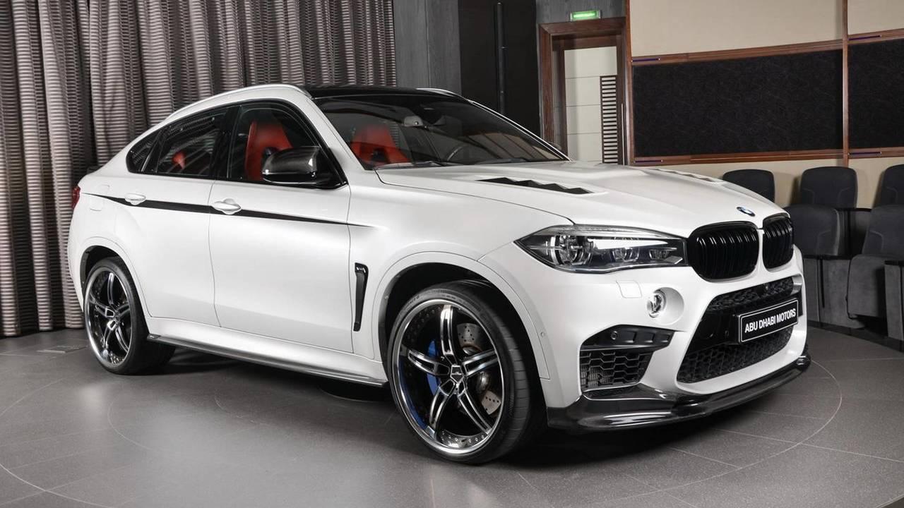 BMW X6 M with 3D Design kit