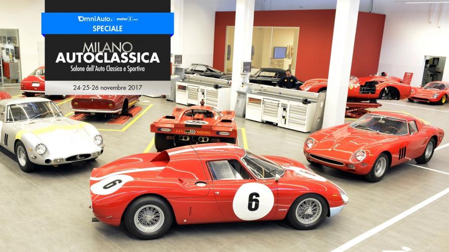 Ferrari Classiche, in mostra le Officine esclusive