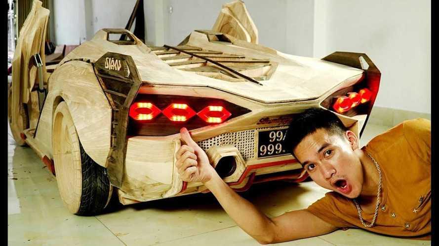 Найдена, возможно, самая крутая мини-реплика Lamborghini Sian