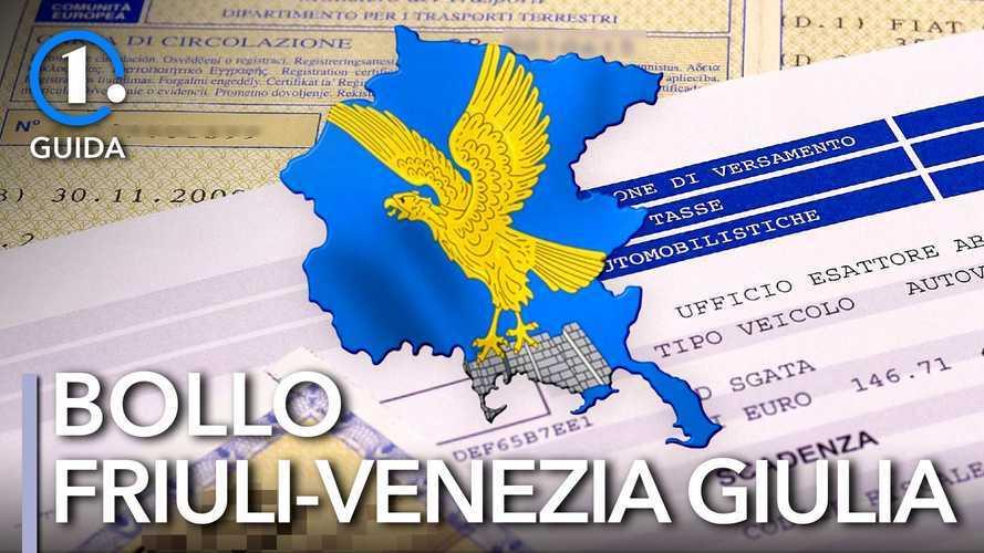 Come si paga il bollo auto in Friuli-Venezia Giulia