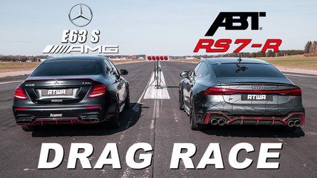 Audi RS7 drag races AMG E63 for tuner supremacy