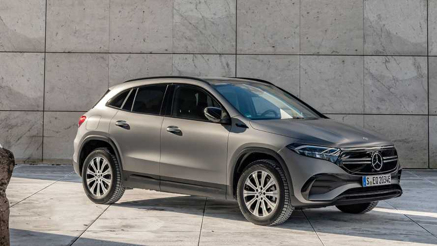 Mercedes-Benz EQA Finally Goes All-Wheel Drive