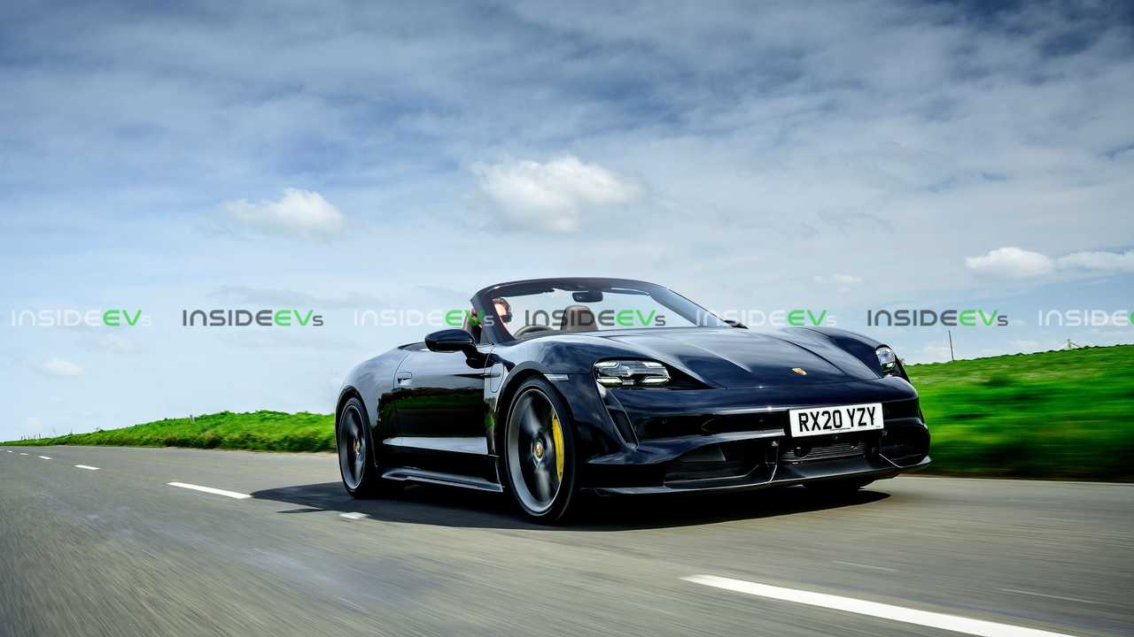 This Is How A Convertible Porsche Taycan Could Look Like