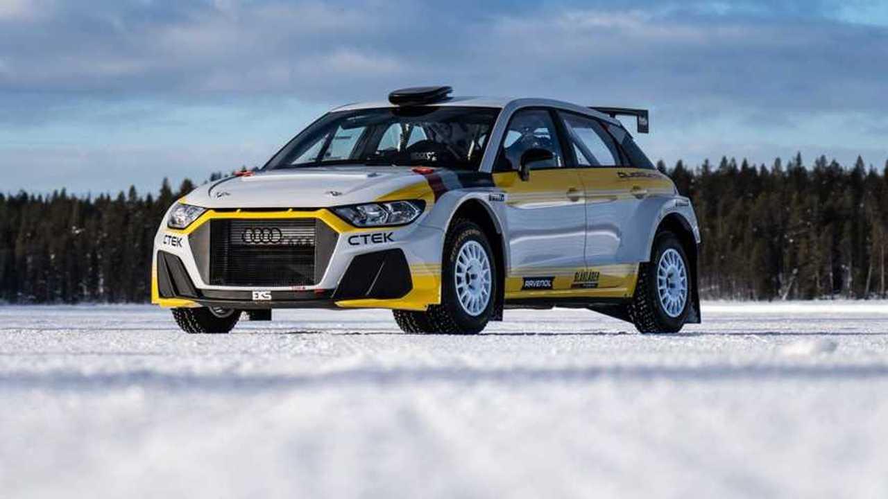 Audi A1 quattro Rally2 de EKS JC