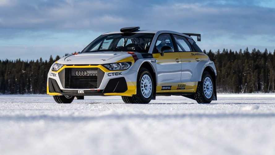 El Audi A1 quattro de rally de EKS JC es todo un homenaje al pasado