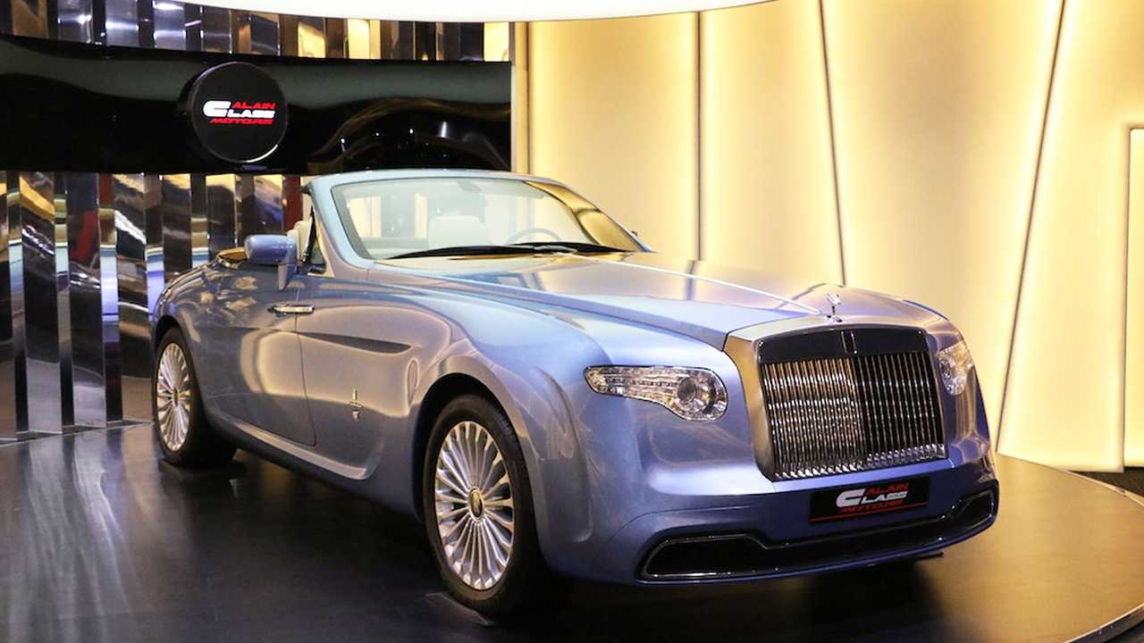 Rolls-Royce Phantom Hyperion by Pininfarina in vendita