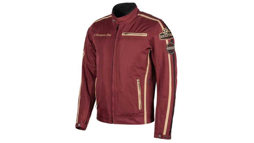 Helstons King Textile Jacket Keeps It Comfortable And Casual