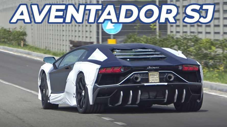 Una speciale Lamborghini Aventador si prepara al debutto