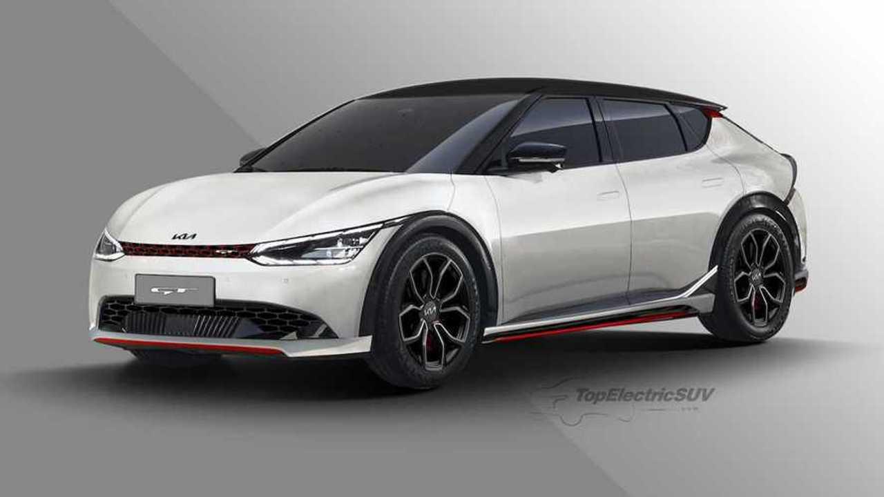 KIA EV6 GT Hayali Tasarımı (Render)