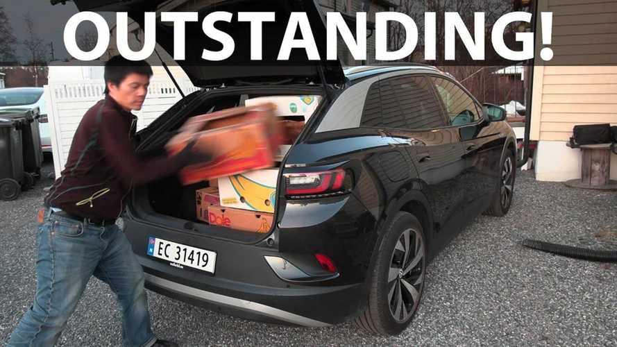 Volkswagen ID.4 Shines In Bjorn's Banana Box Test