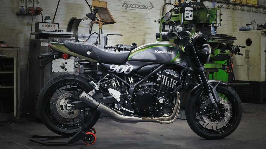HP Corse Releases New Slip-On Exhaust For The Kawasaki Z900RS