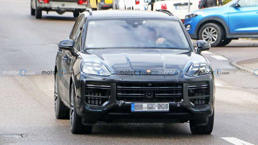 Porsche Cayenne 2021 Facelift neue Erlkönigbilder