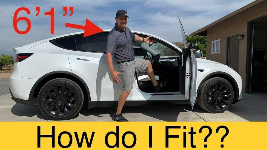 Tesla Model Y Vs Tall Guy: How Roomy Are The Seats?
