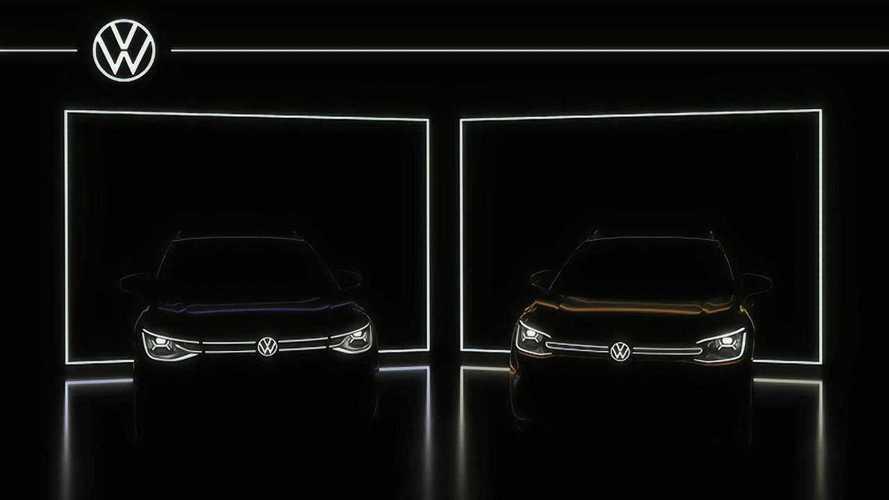 VW ID.6: SUV elétrico de 7 lugares mostra a 'cara' em novo teaser