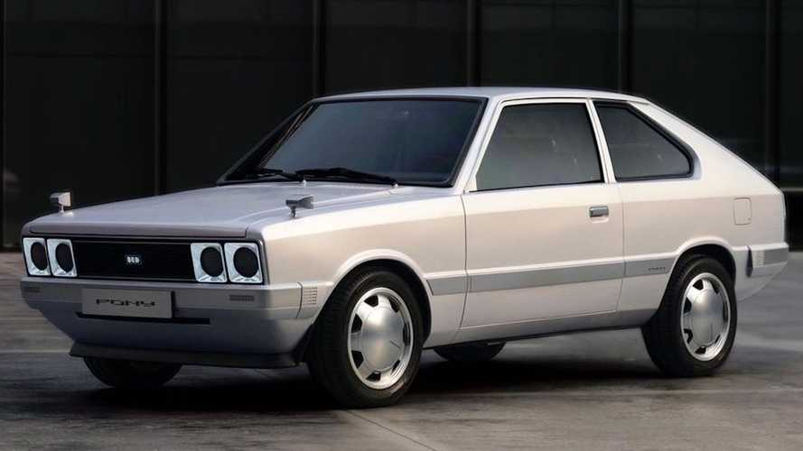 Hyundai Pony EV One-Off Concept Looks Back To Brand's Heritage