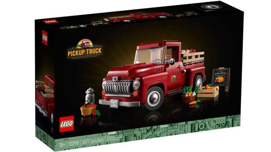 Ford F-100 Lego Creator Expert