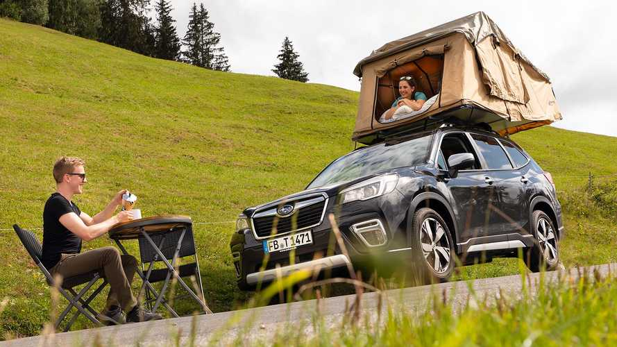 Subaru Forester (2021) mit Dachzelt