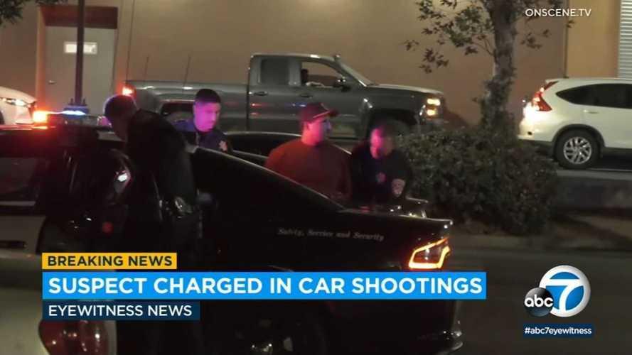 Tesla's cameras help police arrest man for BB gun shootings