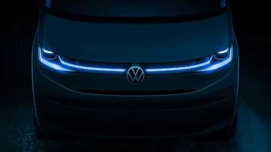 Volkswagen показал «лицо» нового Multivan