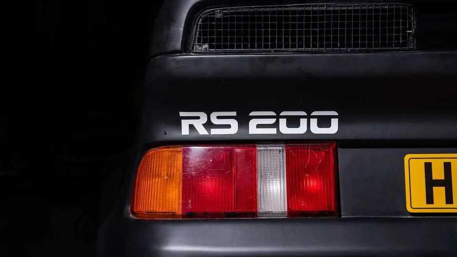Ford RS200 de Ken Block, a la venta