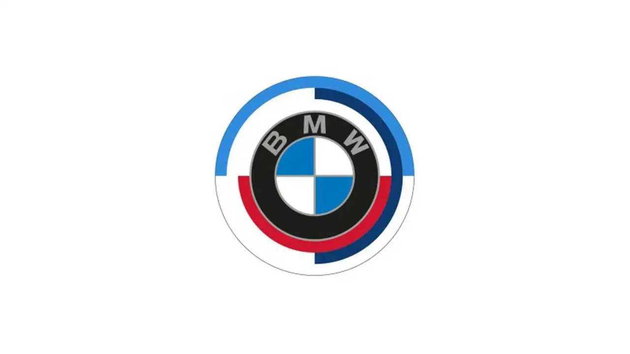 BMW M 50 anni logo