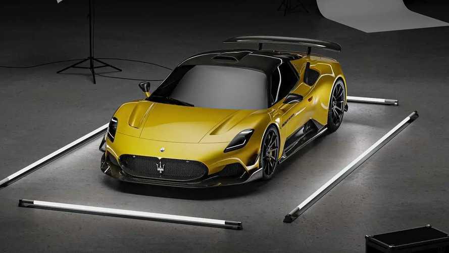 PHOTOS - Un superbe kit en carbone pour la Maserati MC20