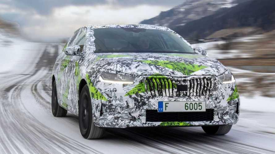 La nouvelle Škoda Fabia nous livre déjà ses secrets