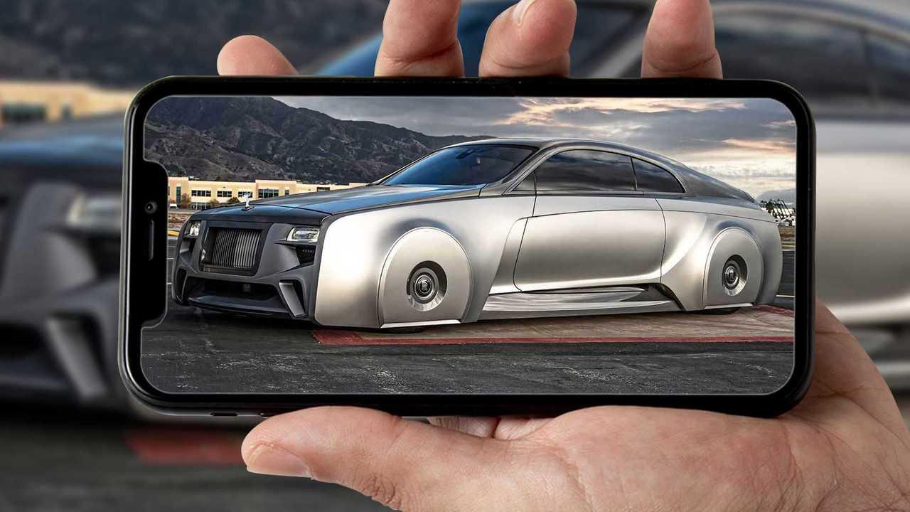 La Rolls-Royce Wraith Custom