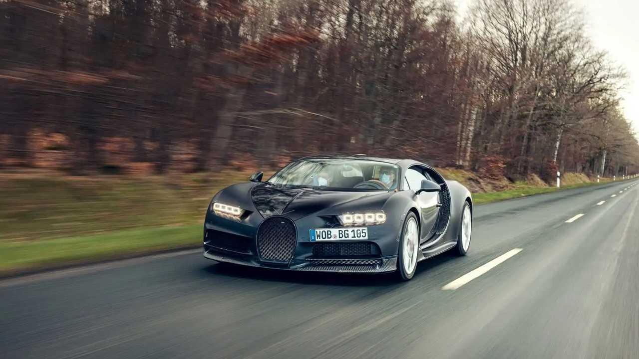 Bugatti Chiron Prototype 4-005 Retirement