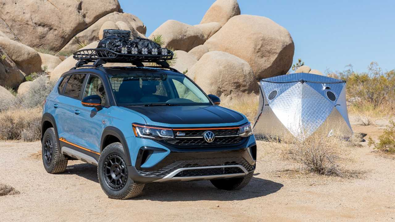 Volkswagen Taos Basecamp Concept - frente_lateral