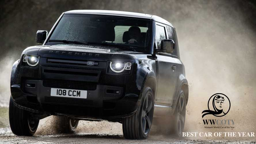 Il Land Rover Defender è Women's World Car of the Year 2020