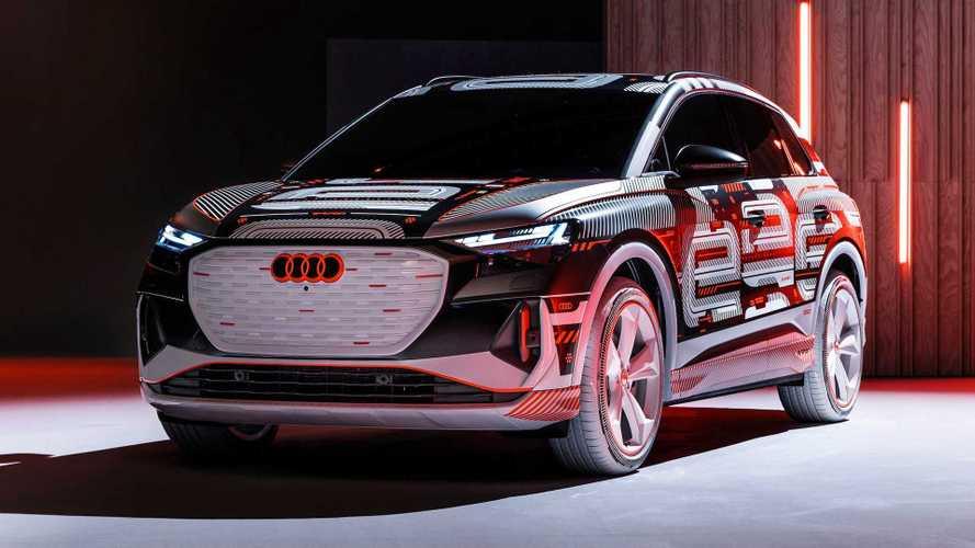Audi Q4 e-tron Prototype - Le nouveau SUV compact électrique aux anneaux