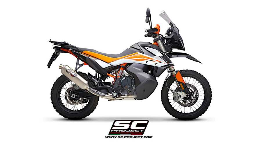 SC Project Offers Two New Exhaust Options For KTM 890 Adventure