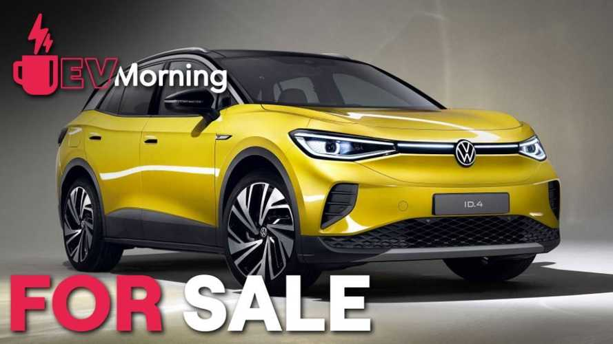 EV Morning News: VW ID.4 On Sale, Audi Puts End Date On Gas, More